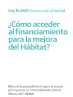 PROGRAMA DE FINANCIAMIENTO PARA LA MEJORA DEL HÁBITAT